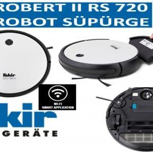 FAKİR ROBERT II RS 720 ROBOT SÜPÜRGE